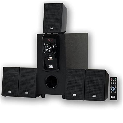 new acoustic audio aa5150 home theater 5 1 speaker system