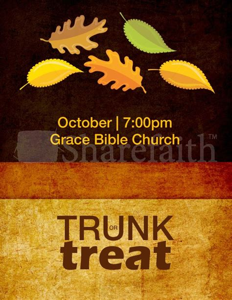 trunk or treat flyer template trunk or treat flyer template template flyer templates