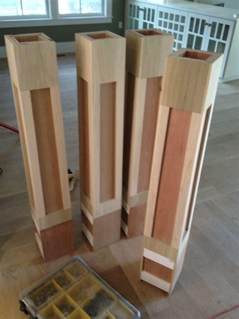 wood l post designs wooden light posts wooden designs