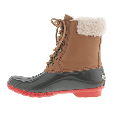 Women's Sperry Top Sider® for J.Crew Shearwater boots