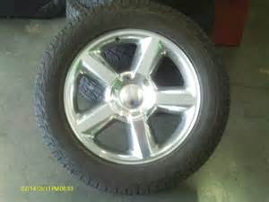 20 inch oem polished chevy ltz wheels and tires 1 100