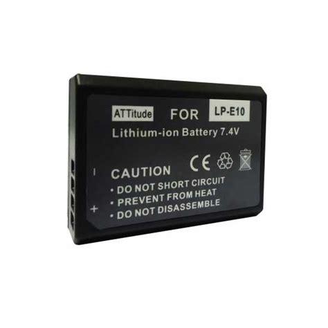 Baterai Canon 1200d harga baterai lp e10 for canon 1100d 1200d 1300d