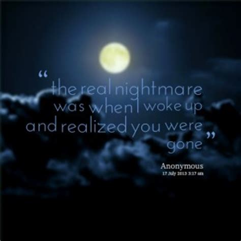 quotes  nightmares quotesgram