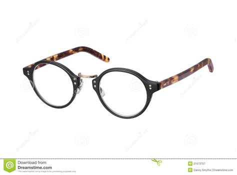 vintage eyeglasses isolated with clipping path royalty