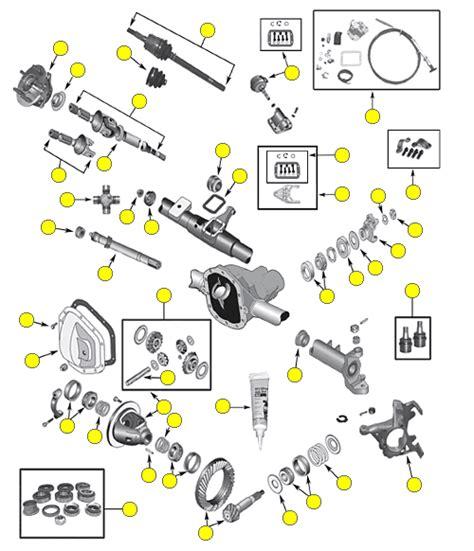 Disc Brake Seal Kit D Terios front axle crown automotive sales co