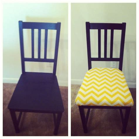 Redoing Chair Seats Ikea Chair Redo More Seat Covers Ideas