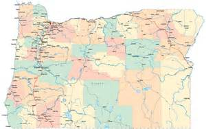map of oregon by county oregon counties gallery