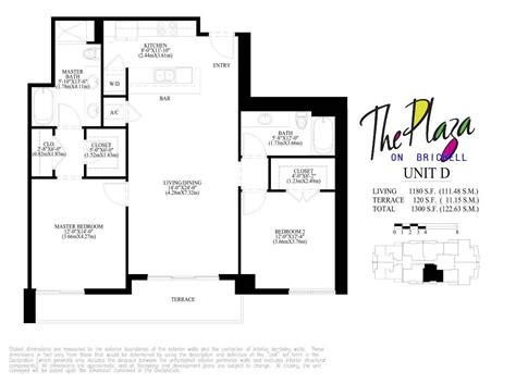 The Plaza Floor Plans | plaza on brickell condo floor plans