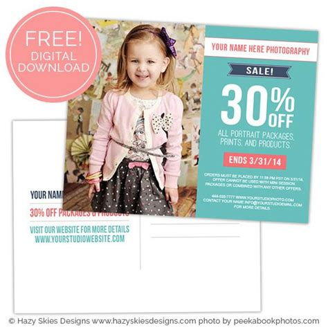Free Photography Marketing Template Free Photoshop Templates For Photographers