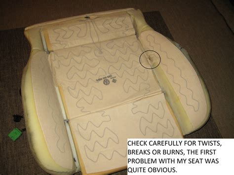 Upholstery Car Seats Repair Heated Seats Troubleshooting