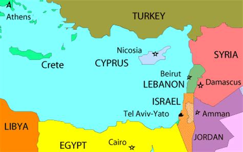 where is cyprus on the world map map cyprus