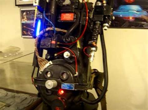 proton pack sound ghostbusters proton pack lights and sound