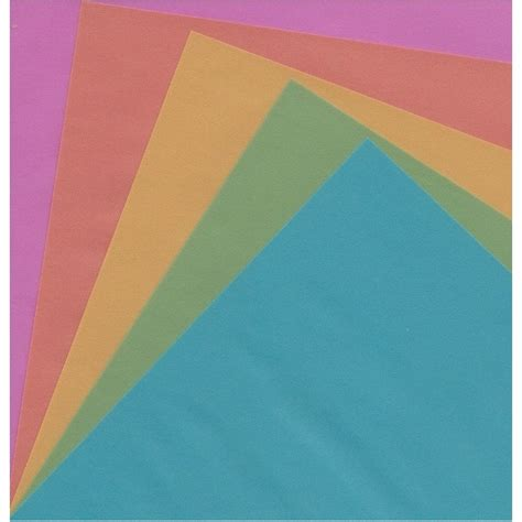 10 Inch Origami Paper - origami paper tracing pearl sheen 150 mm 10 sheets bulk