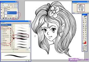 coloring in photoshop how to color anime in photoshop step by step