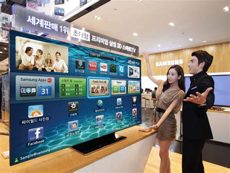 Home Design 3d Smart Software by Samsung Releases Es9000 75 Inch Smart Tv In South Korea