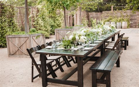 Farm Tables For Rent by Rentals Rustic Events