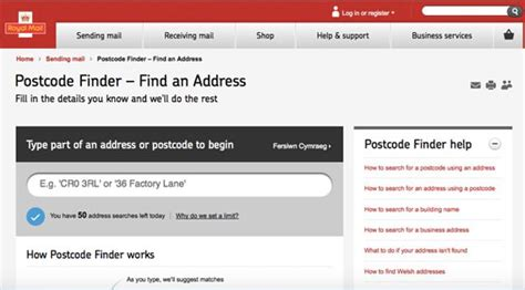 Royal Mail Address Finder Using Postcode 18 Websites You Can T Live Without Gauk Auctions Ukgauk