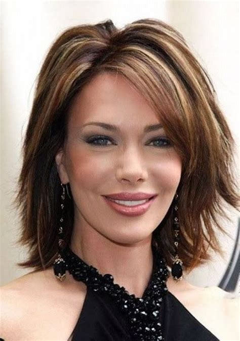 highlights hair over 50 short hairstyles for women over 40