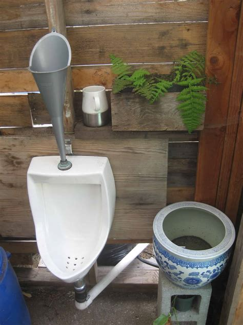 urinal bathroom composting toilet images greywater action