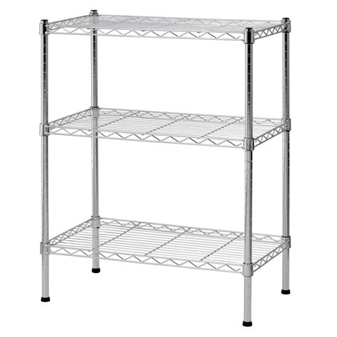 sandusky 30 in h x 24 in w x 14 in d 3 shelf steel wire