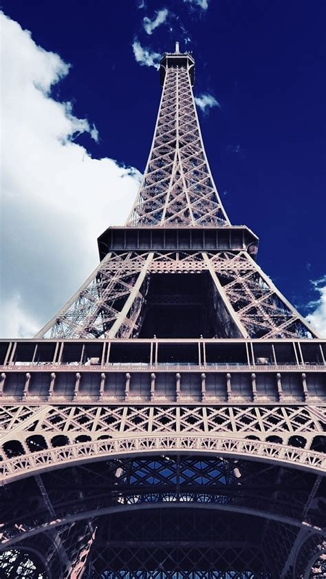 wallpaper for iphone 5 eiffel tower iphone wallpapers blue sky eiffel tower hd iphone 5 hd
