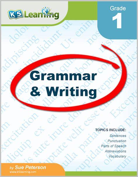 Grammar Workbook P2 grade 1 grammar and writing workbook from k5 learning