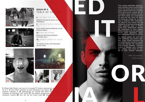 magazine cover template indesign how to make a magazine from a creative indesign template