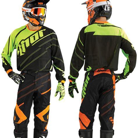 Baju Sepeda Thor Motocross Jersey Motor Cross 2016 thor phase vented jersey doppler black flo dirtbikexpress