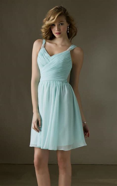 short light blue dresses for juniors short chiffon junior bridesmaid dresses naf dresses