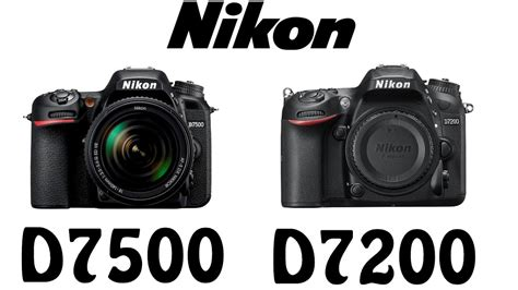 Nikon D7200 Vs P900 by Nikon D7500 Vs Nikon D7200