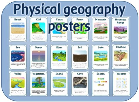 new year geography ks1 ks1 physical geography vocabulary posters and headings