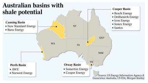 Cost Of C Section In Australia by Shale Exploration Spending Tipped To Reach 1bn The