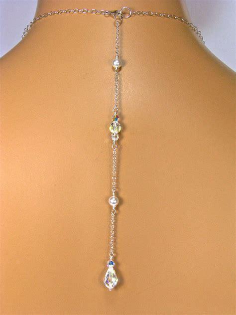 back necklace backdrop attachment bridal necklace backdrop