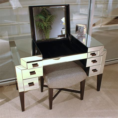 Modern Makeup Table by Makeup Vanity Table With Mirror Designwalls