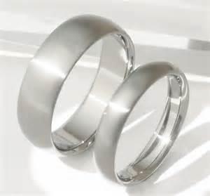 matching titanium wedding band set stn11