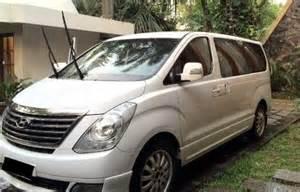 Hyundai H1 Car Rental In Jakarta Bandung Rent A Car And Travel Services Diaz Travelindo