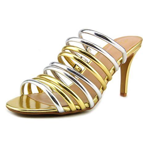 Exclusive Heels Imelda Heels Gold Emas Thalia Sodi Imelda Us 10 Gold Sandals 2927 Ebay