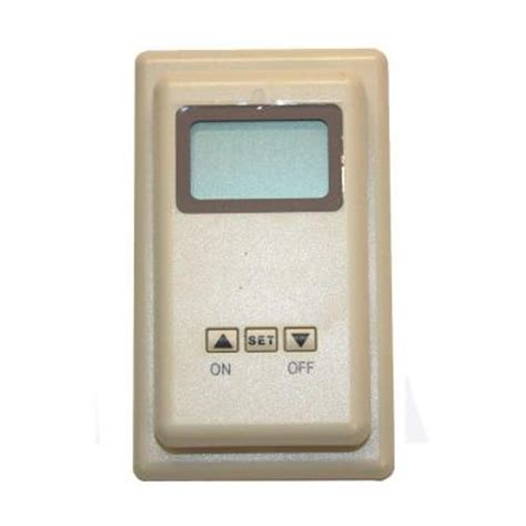 williams wireless digital wall thermostat p332491 the