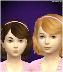 sims 4 child hair cc sims 4 hairs simista ela 4g hairstyle retextured