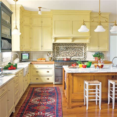 This Old House Kitchen Cabinets | creamy yellow editors picks our favorite yellow