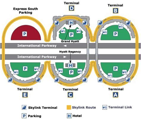 dfw airport map outspoken terminal c