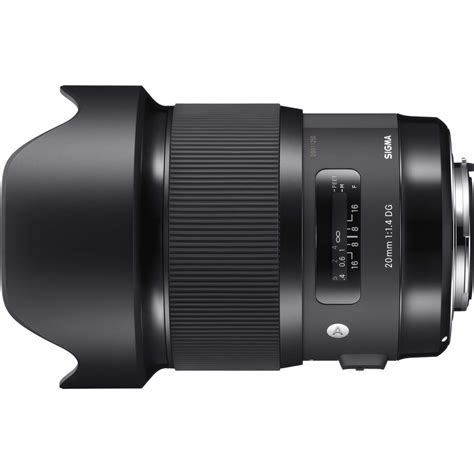 Sigma 20mm New Ultra Wide King Sigma 20mm F 1 4 Lens For Canon Dxomark Tested News At Cameraegg