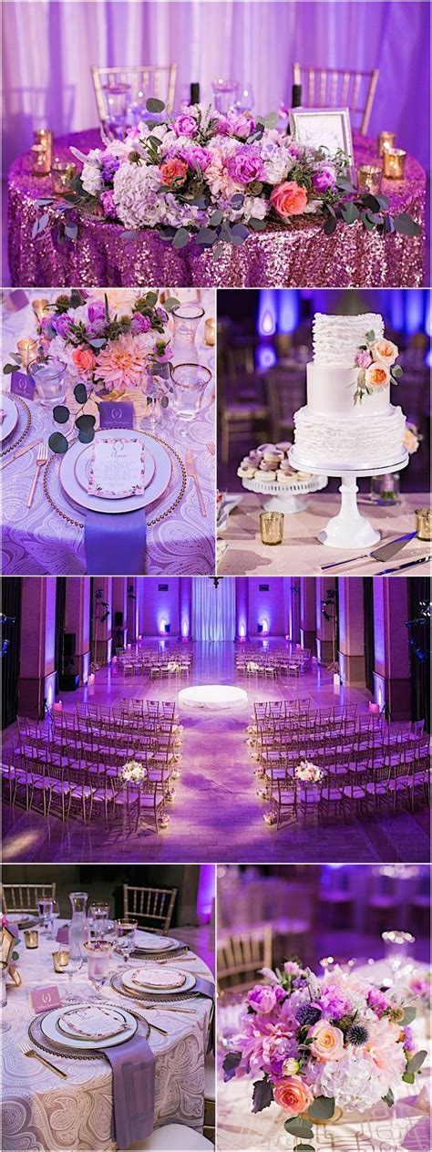 Best 25  Purple wedding receptions ideas on Pinterest