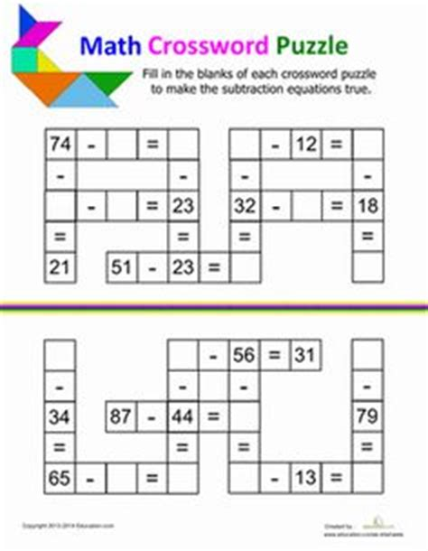 printable division puzzle cross number puzzle free multiplication worksheet for