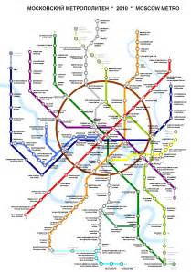 Moscow Subway Map by Moscow Metro Map Russia