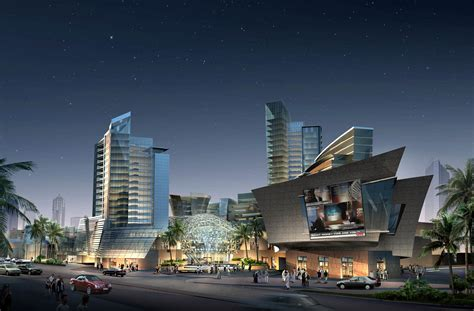 shopping mall night  model max cgtradercom