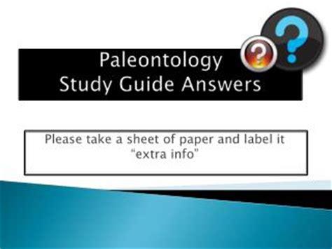 Ppt Paleontology Study Of Prehistoric Life Powerpoint
