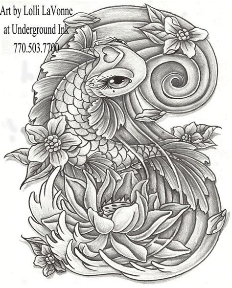 girly koi fish tattoo designs koi fish tattoos for koi fish tattoos free