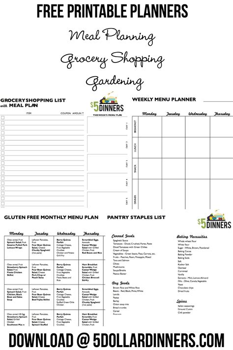 printable grocery coupons no download required free printable grocery planners