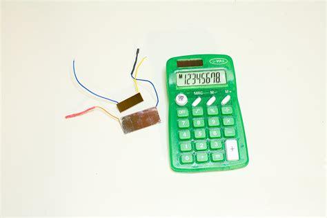 calculator solar panel low power 171 circuits home